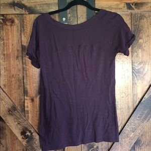 Vince Tops - Vince like new dark purple 100% cotton tee shirt!